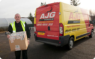 Delivery - Copyrights by AJG