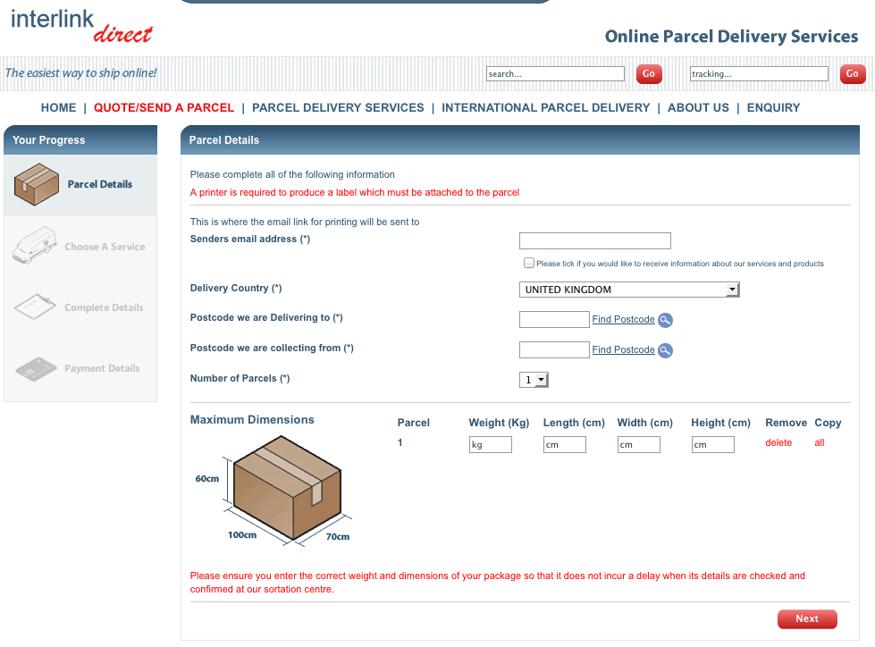 Inter Direct – Copyrights by Interlink Express