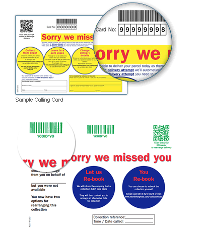 Interlink Express - We missed you card  – Copyrights by Interlink Express
