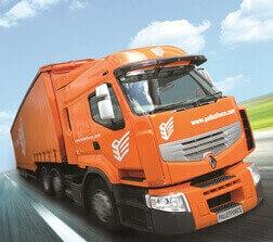 Truck - Copyrights by PalletForce