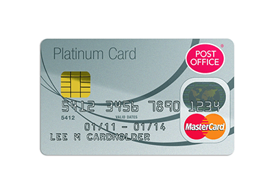 Post Office Credit Card – Copyrights by Post Office