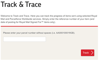 Post office tracking track and trace track - Post office tracking mail ...