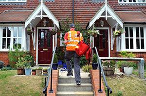 Royal Mail Mailman - Copyrights by Royal Mail