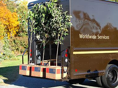 UPS Cars -  Copyrights by UPS