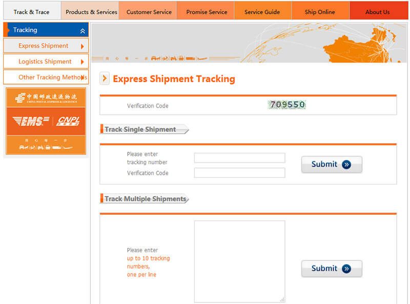 china post tracking
