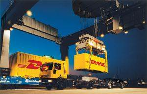 DHL Freight Container loading - Copyrights by DHL