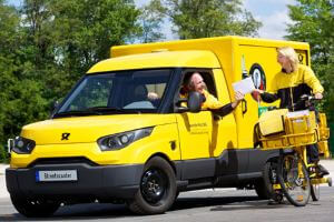 DHL delivery  - Copyrights by DHL