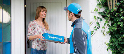 Delivery man - Copyrights by myHermes