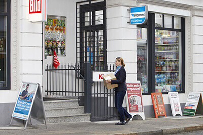 With collection, a Hermes driver comes to your door to pick up your parcel. The parcel is then delivered to the address that you told us when you booked the delivery. If your collection doesn't take place on first try for any reason, Hermes will attempt to collect two times over the following two days.
