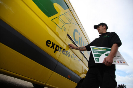 City Link Delivery Driver -  Copyrights by City Link