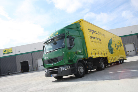 City Link Trucks -  Copyrights by City Link