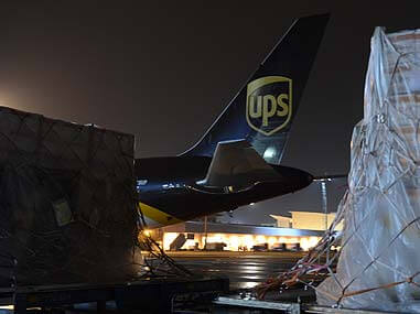 UPS Cargo -  Copyrights by UPS