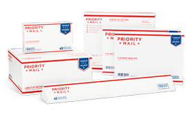 USPS Priority Mail International  – Copyrights by USPS