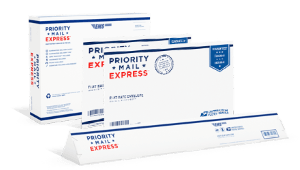 USPS Priority Express  – Copyrights by USPS